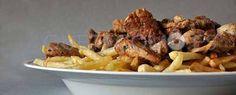 Raxo con patatas fritas | Restaurante cafetería Nico's en Lugo