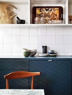30 kitchens that will make you rethink vintage wall decor on domino.com