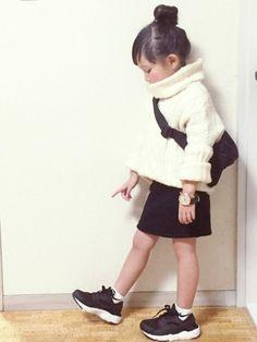 cyamu(͒⑅′࿉‵⑅)͒ෆ*さんの(韓国子供服)を使ったコーディネート