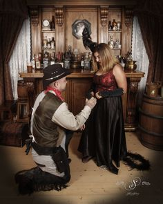 Congratulations to this cowboy and saloon girl! They got engaged (for real) in their photo shoot! At Silk's Saloon Old Tyme photos at Glenwood Caverns Adventure Park, In Glenwood Springs Colorado. Glenwood Springs Colorado, Saloon Girls, Proposal Photos, Western Parties, Marriage Proposals, Photo Shoots, Congratulations, Wedding Inspiration, Adventure