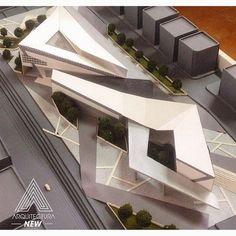 Impressive Architecture Model For You – Design and Decor Folding Architecture, Concept Architecture, Futuristic Architecture, Landscape Architecture, Interior Architecture, Architecture Model Making, Arch Model, Urban Design, Arches