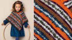 Le poncho enfant rayures Pérou : Femme Actuelle Le MAG