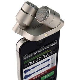 iXY: Stereomikrofon für iPhone