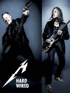 James & Kirk 2016 #metallica #hardwired
