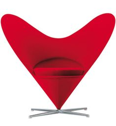 Panton Heart Chair. I've always wanted one of these