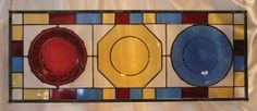 Vintage Plates Upcycled into Stained Glass by SerendipityGlassWrks, $200.00