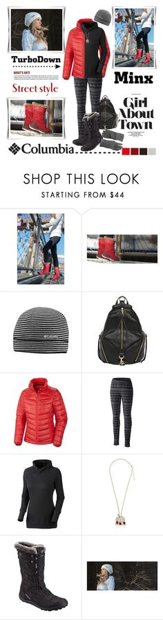 """Get Down With Columbia TurboDown: Contest Entry"" by margaretferreira ❤ liked on Polyvore featuring Columbia Sportswear, Columbia, Rebecca Minkoff, Sonia Rykiel, tryingstuff and turbodown"