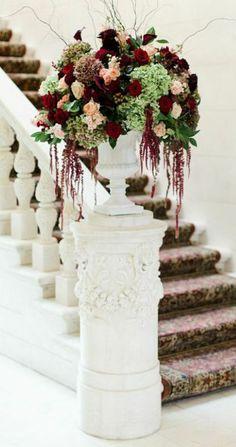 Photographer: CLY by Matthew; Wedding reception centerpiece idea
