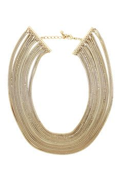 A statement necklace that isn't TOO statement-y ... Eye Candy Los Angeles
