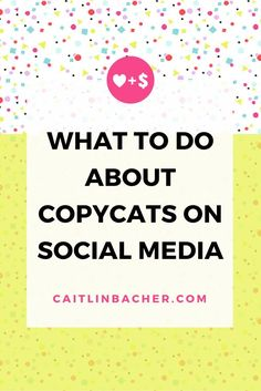What To Do About Copycats On Social Media - great advice for nonprofits, small business, and social enterprise!