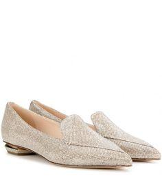 Slippers Aus Lamé