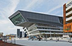 Zaha Hadid's 300,000-square-foot library and Learning Center at Vienna University.