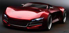 Audi R10 design - Marouane Bembli