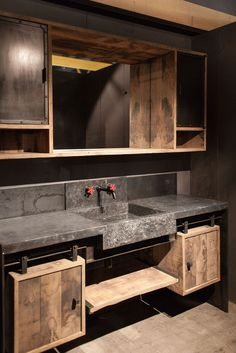 """Ansart"" bathroom furniture by Dirk Cousaert Design"