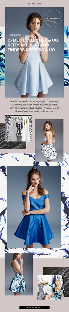 Urban Outfitters  Exclusive new dresses from our favorite Aussie brands