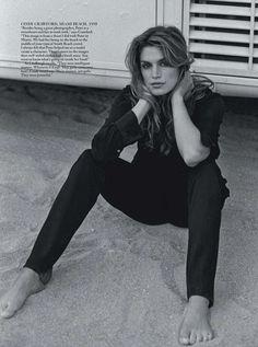 gotta give it to Cindy circa 1995 :: Vogue Australia