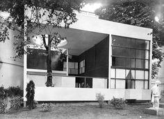 Le Corbusiser, Pavillon de l'Esprit Nouveau, Paris, France, 1924