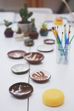 Photo from our recent Ceramics workshop with @kristensaksajuen via @thepaperandcraftpantry. Photo by @paulinalam