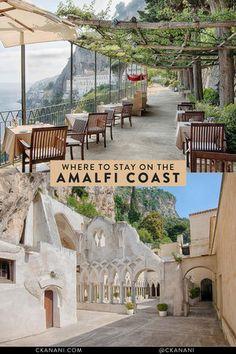Where to Stay in Amalfi Coast - The Best Hotels, Villas, and Airbnbs — ckanani luxury travel & adventure Hotel Amalfi, Amalfi Coast Hotels, Amalfi Coast Italy, Sorrento Italy, Capri Italy, Sardinia Italy, Naples Italy, Sicily Italy, Travel