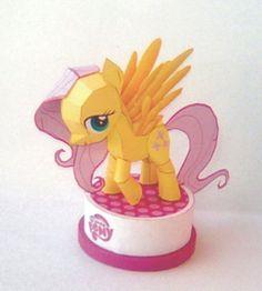 Fluttershy - My Little Pony Papercraft