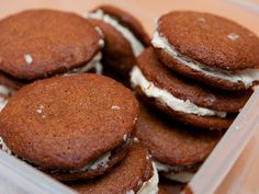 I think I'd change the filling to a cream cheese base but... sound yummy and great for fall!