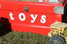 Bespoke Decor | Red Toy Box