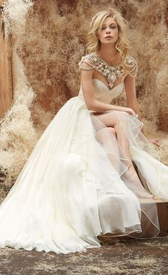 Bridal Gowns - Hayley Paige Spring 2014