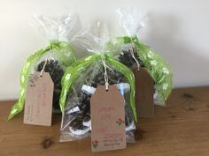 'Springtime Fire Starters'.  These beautiful pinecone firelighters smell of lavender and lemon and are gifts for my girlfriends for those chilly Spring evenings when an open fire is a must!x