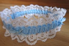 The Pink Button Tree: How to Make a Bridal Garter