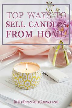 Selling candles from home is one of the most popular industries when it comes to home business ideas, and there are many trusted companies to choose from. Diy Candles To Sell, Diy Candles Easy, Homemade Candles, Making Candles, Candle Making For Beginners, Diy Aromatherapy Candles, Homemade Business, Candle Making Business, Opening An Etsy Shop
