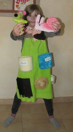 Des ch'tis tabliers... Language School, Activities To Do, Age 3, English Language, Animation, Puppets, Apron, Creations, Classroom