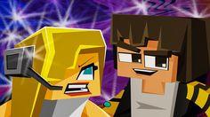 "NEW MINECRAFT SONG: Hacker 4 ""Hacker VS Psycho Girl"" Minecraft Songs and..."