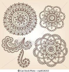 mandala henna tattoo love it!