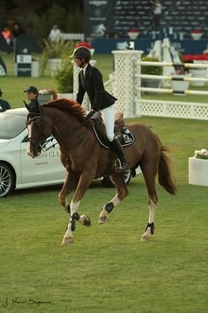 Penelope Leprevost Topinambour Global Champions Tour '13