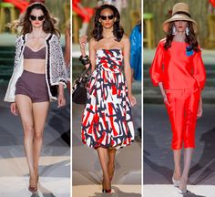 Dsquared2 September 18, 2013 DSQUARED2, MILAN, RUNWAY, S/S 2014, WOMEN 0    RETRO LADY  Milan:A playful vibe was felt throughout the c...