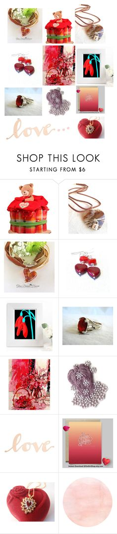 """love..."" by vintagerefrain ❤ liked on Polyvore featuring Le Donne, Ahava and Primitives By Kathy"