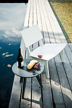 Loll Lago Chair | eco-friendly outside furniture made of recycled milk jugs!