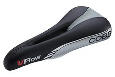 The Cobb V-Flow bike saddle, designed by John Cobb, comfort streamlined shape, Click to Buy this Bike Saddle Comfort for road riders, triathlons, Best Bike Saddles.