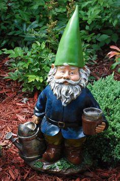 handmade landscape gardening Funny Garden Gnomes with stick supplier