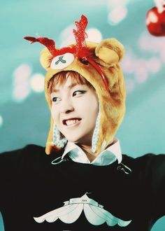 Cute...♥ Xiumin, our pixie boy everybody~ #EXO
