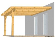Pergola Attached To House On Two Sides - Concrete Pergola Lighting - Plan Pergola Acier - Pergola Acier Vinyl Pergola, Pergola Carport, Small Pergola, Pergola Attached To House, Deck With Pergola, Wooden Pergola, Outdoor Pergola, Covered Pergola, Backyard Pergola