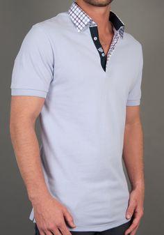 314885ede Men's Polos SJD 122. #mens #shirts #fashion #polos. Larry Parker · Looking  fly · Hugo Boss Green Pedro Polo Shirt Blue ...