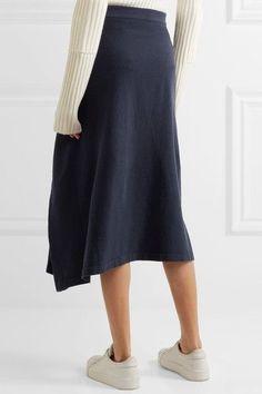 Navyblauer Baumwoll-Jersey  Ohne Verschluss  100 % Baumwolle  Trockenreinigung
