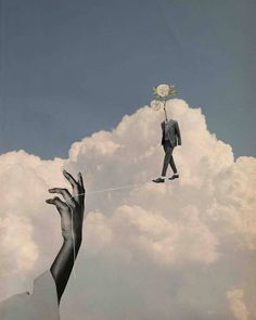 Paper Collage Art, Pretty Sky, Surrealism Art, Summer Wallpaper, Infp, Photomontage, Trippy, Cover Art, Psychedelic