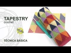 Tutorial Tapestry /Jacquard Crochet o Ganchillo Técnica Básica - YouTube