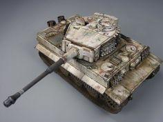 Tiger I 1/48 Scale Model