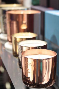 copper, brass, candle, tom dixon