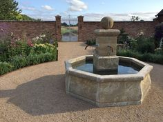 Natural Stone French Fountain : Accessories & decoration by BARTON FIELDS LANDSCAPING SUPPLIES