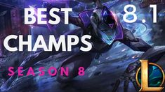 The list of the best champions to climb with in patch (season These champs have highest win rates in the game so i highly recommend picking them up a. Season 8, Esports, League Of Legends, Games, Youtube, Watch, Clock, League Legends, Bracelet Watch
