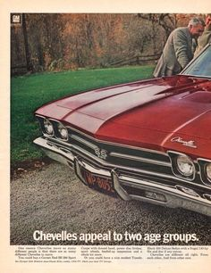 1969 Chevrolet Chevelle SS 396 Sport car print ad by Vividiom, $8.00